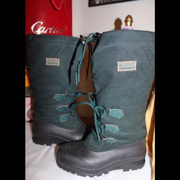 Sorel Boot Liners >> Retro 80s 90s Sorel Snow Boot Liners Sz 6